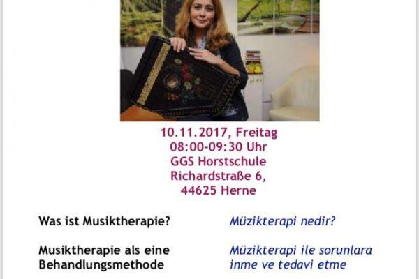 Elternseminar über die Musiktherapie