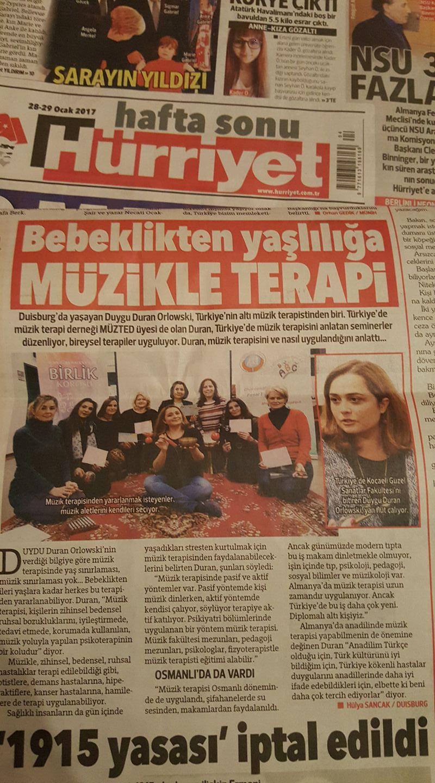 Reportage Türkische Zeitung Hürriyet